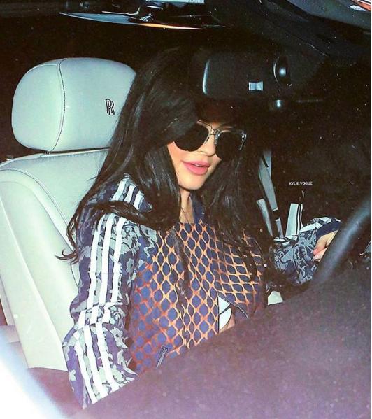 Kylie Jenner le 27 novembre 2015