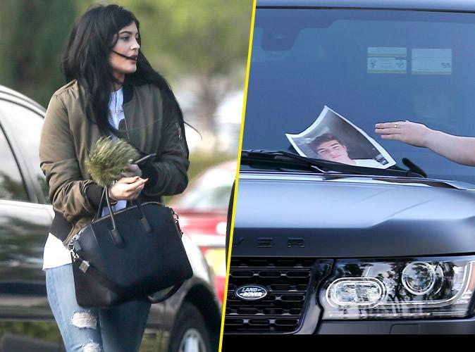 Kylie Jenner : un fan trouve un moyen insolite de lui laisser son numéro de téléphone !