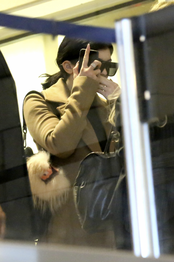 Kylie Jenner le 12 mars 2015