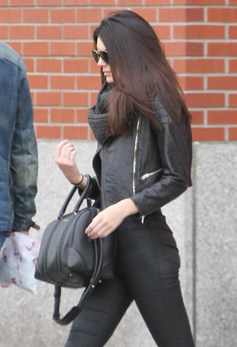 Kendall Jenner à New York le 28 avril 2014