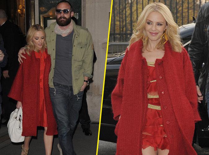 Kylie Minogue : la bombe australienne s'affiche aux bras de son nouveau chéri
