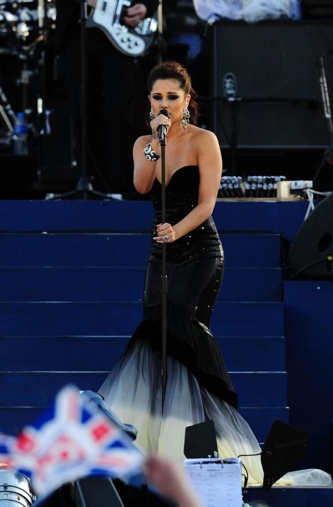 Cheryl Cole patriote !