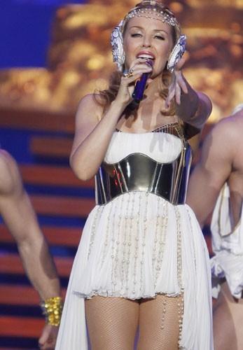 Kylie à Paris !