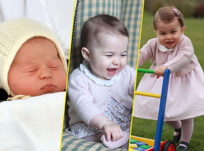Photos : La Princesse Charlotte a un an : l'album de ses 25 plus adorables moments !