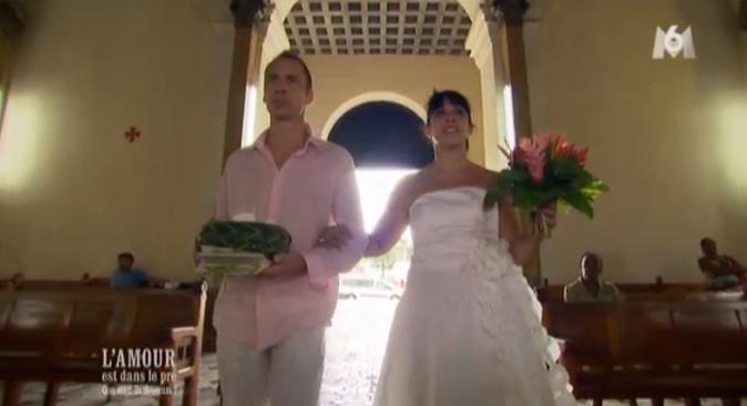 Pierre et Frédérique : le mariage religieux à la Guadeloupe !