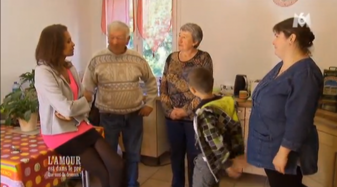 Stéphanie s'est très vite installée, avec son fils,  chez Didier !