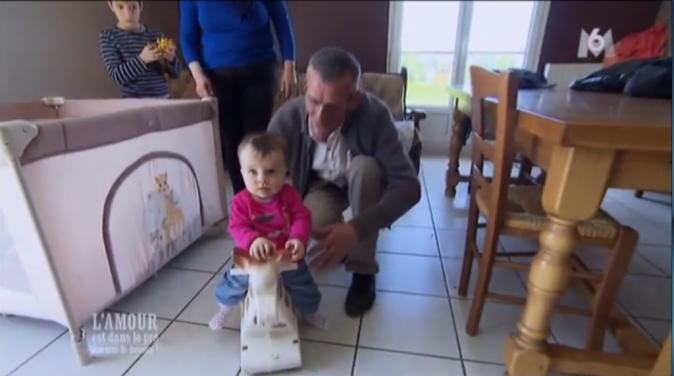 Jean-Claude est l'heureux papa de Charlotte, 9 mois