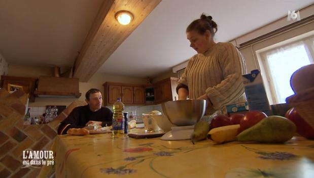Chez Eric, Françoise est toujours en cuisine !