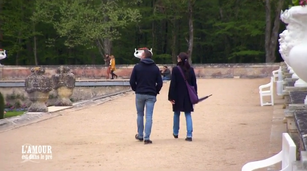 Charlotte a emmené Sébastien au château de Chenonceaux