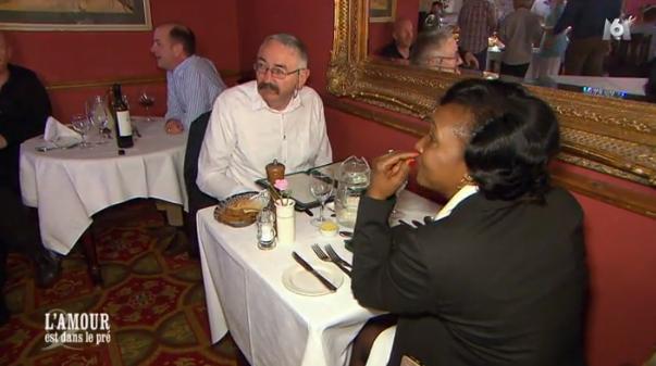 Premier dîner en Irlande pour Paulo et Céline