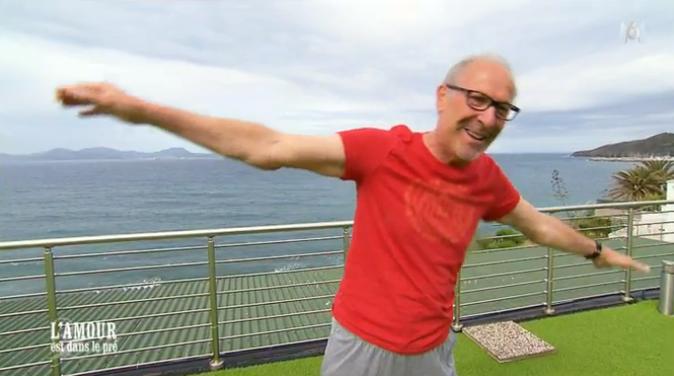 Bernard se lance dans le pilates/yoga...