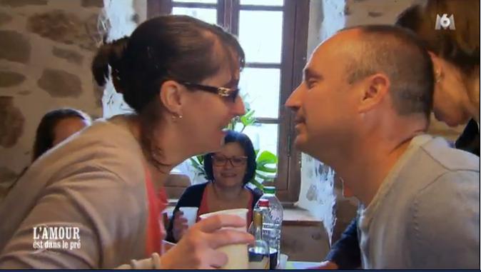 Et encore un baiser qui s'annonce !