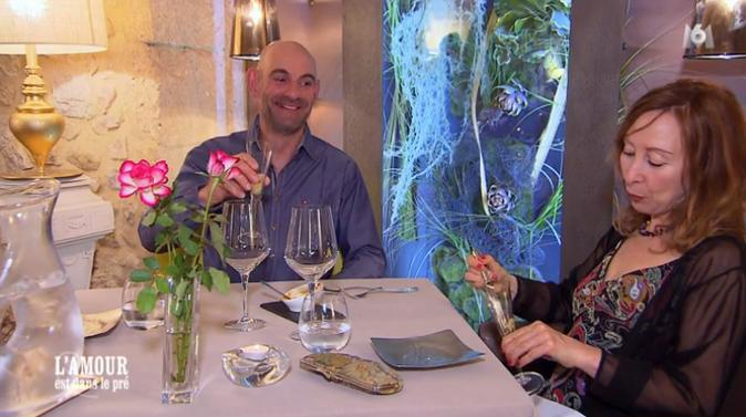Monique et Jean-Marc se félicitent de tout le gingembre qu'ils ont mangé !