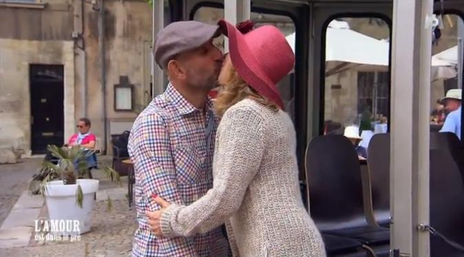 Monique et Jean-Marc semblent très amoureux !