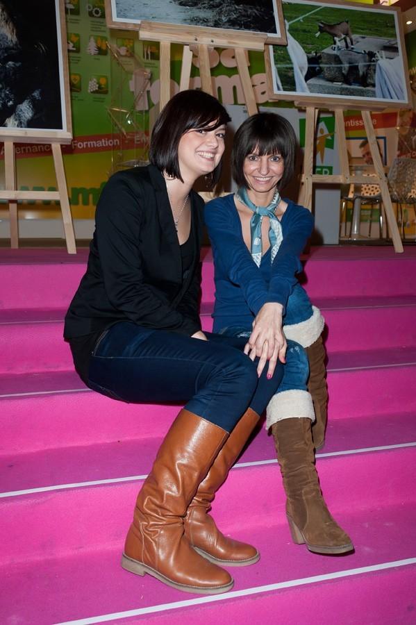 Aurora et Melissa, deux brunettes coquettes !