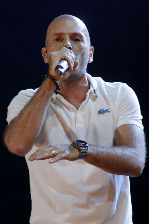 IAM au concert Urban Peace 3 organisé au Stade de France le 28 septembre 2013