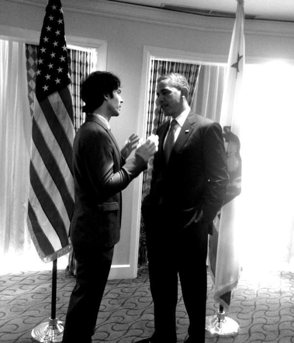 Ian et Barack