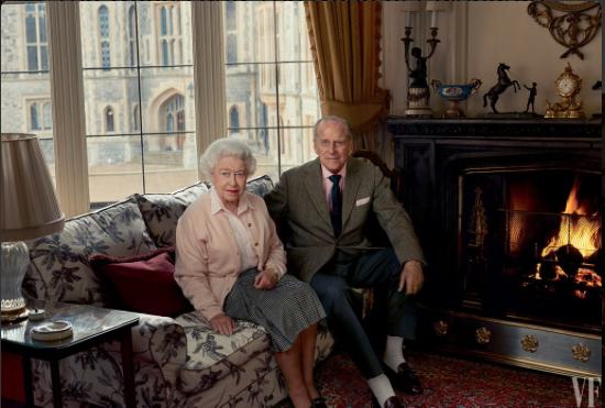 La Reine Elizabeth et le Roi Philip