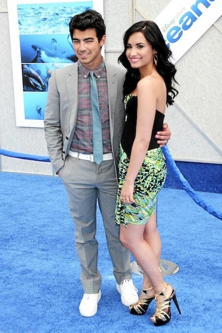 Demi Lovato et Joe Jonas en 2010