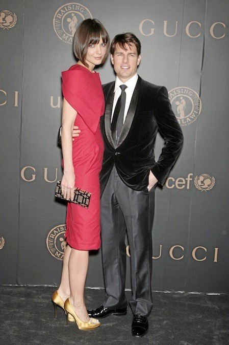 Katie Holmes et Tom Cruise en 2011
