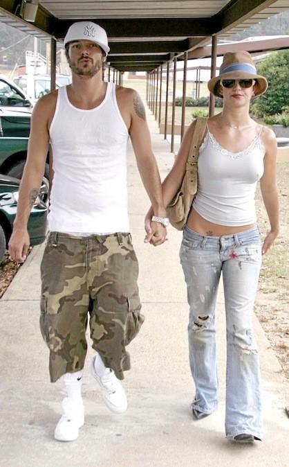 Kevin Federline et Britney Spears en 2006