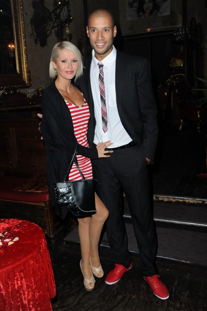 Tatiana et Xavier lors de la soirée de lancement de la tournée Française des Jeux-NRJ 12, le 16 juin 2011 à Paris.