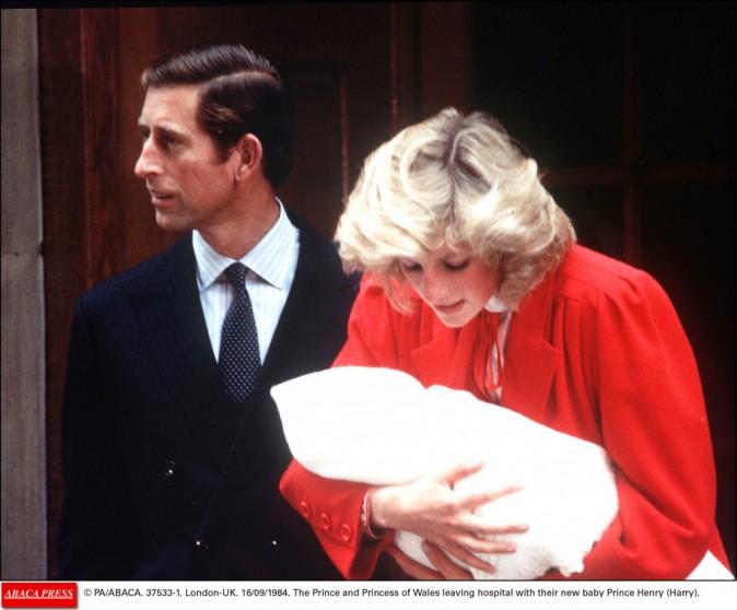 Lady Diana et Charles le 16/09/84