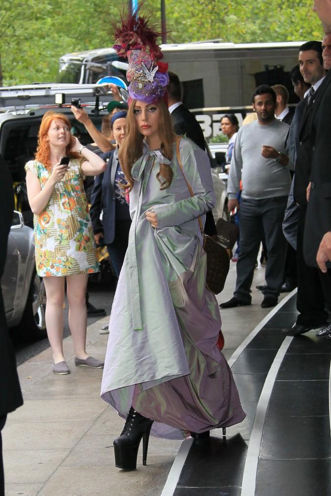 Lady Gaga, Londres, Septembre 2012