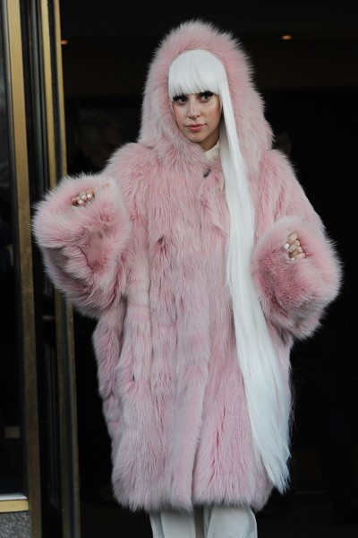 Lady Gaga à New York, le 18 février 2014.