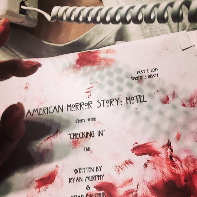 Scénario du premier épisode de la saison 5 d'American Horror Story