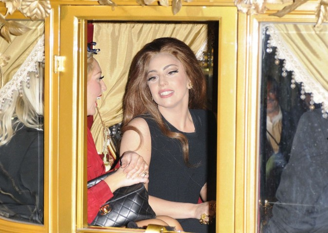 Lady Gaga le 8 octobre à Londres