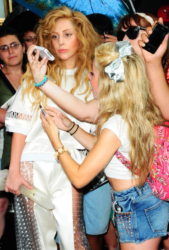 Lady Gaga à New York, le 22 août 2013.