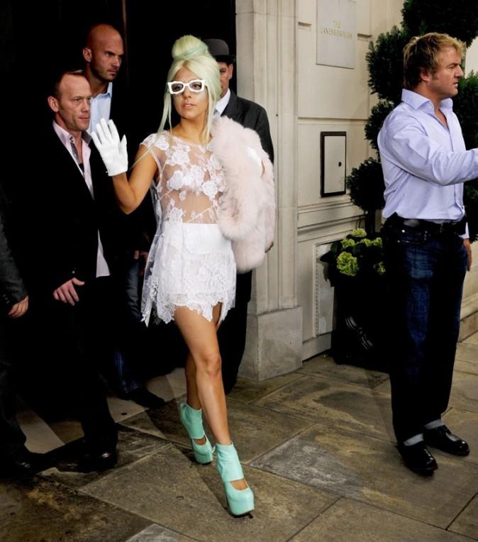 Lady Gaga, jamais naturelle !