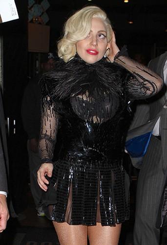 Lady Gaga à New-York le 16 novembre 2013