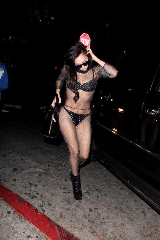Lady Gaga au Château Marmont de Los Angeles le 11 août 2013