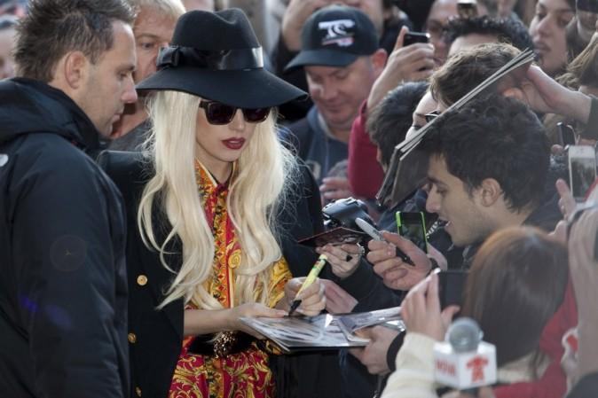 Lady Gaga en petite forme à Melbourne