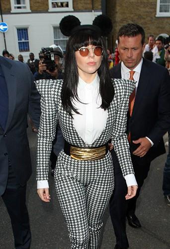 Lady Gaga à Londres le 31 août 2013