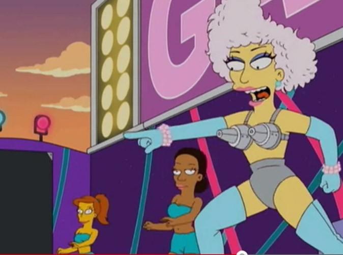 Gaga sur scène