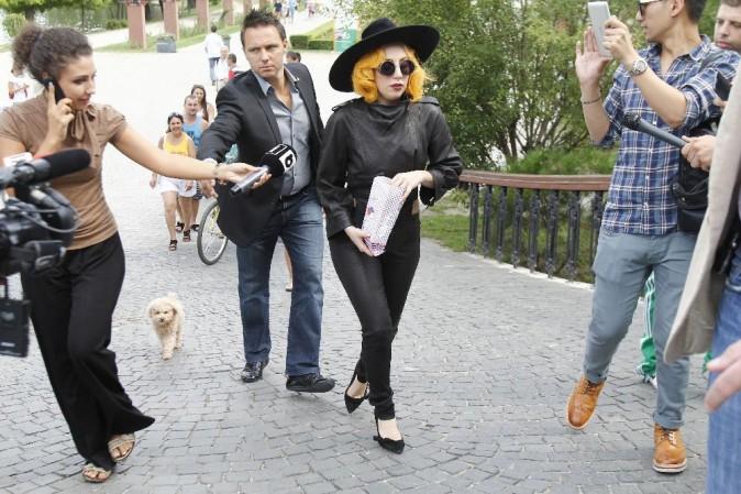 Lady Gaga, Bucarest, 17 août 2012.