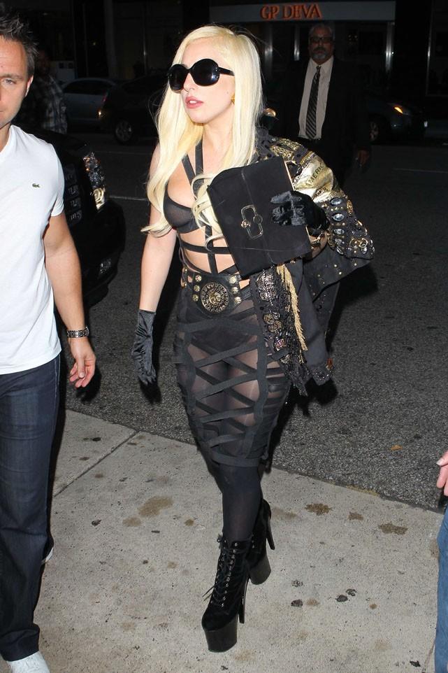 Lady Gaga à Los Angeles le 10 juillet 2012