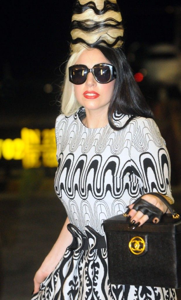 Lady Gaga, une tenue de folie de plus !