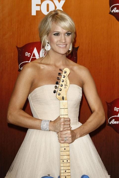 7- Carrie Underwood avec 20 millions de dollars !