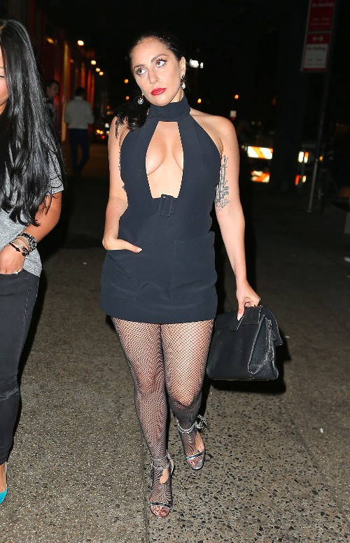 Lady Gaga à New-York le 9 mai 2015