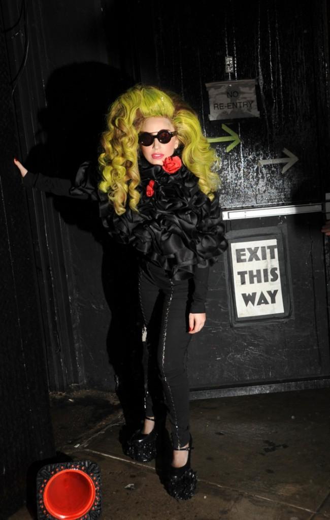 Photos : Lady Gaga : un final riche en audaces vestimentaires !