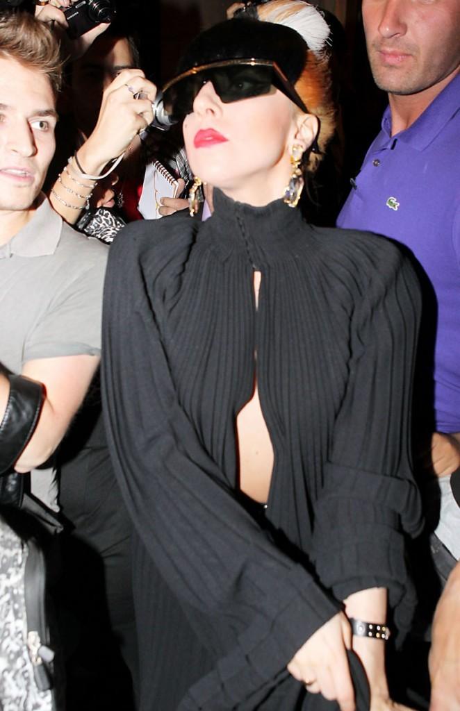 Lady Gaga ne passe jamais inaperçue !