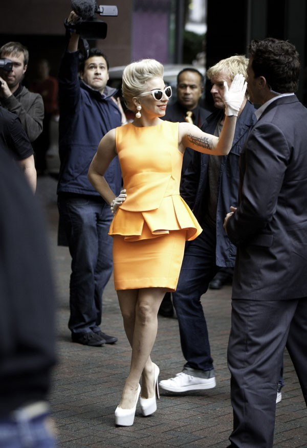 First Lady Gaga à Auckland le 5 juin 2012 !