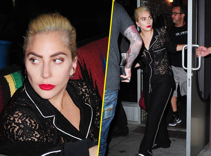 Lady Gaga à New York, le 17 août 2016