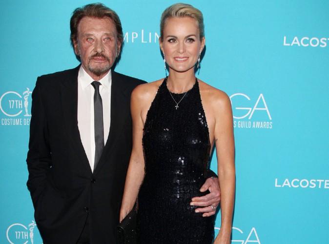 Laeticia et Johnny Hallyday : de l'amour et du glamour pour une nouvelle cérémonie hollywoodienne !