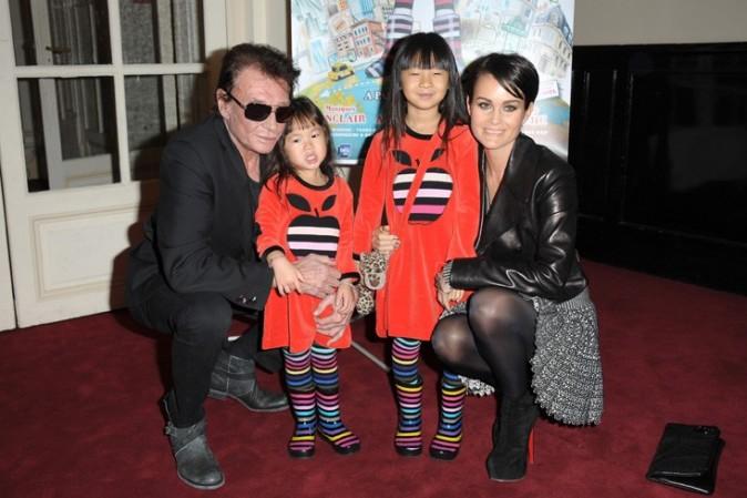 Toute la famille Hallyday a été voir Lili Lampion !