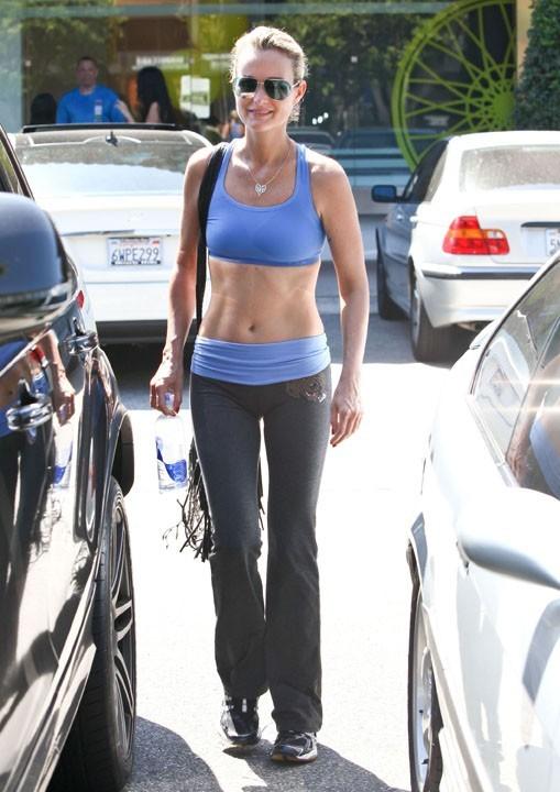 Laeticia Hallyday à Brentwood (Californie) le 16 septembre 2012
